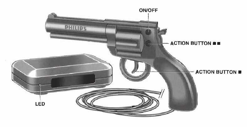Cd-i philips Peacekeeper Revolver