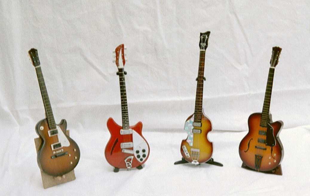 mini guitar models