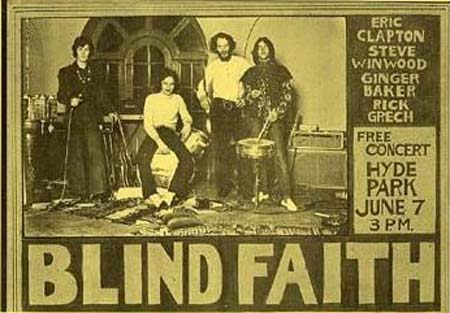 Tour Dates Blind Faith